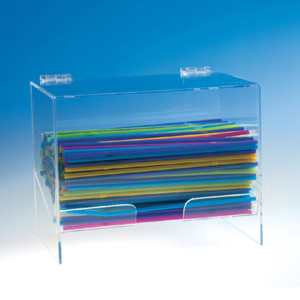 Straws and cutlery holders